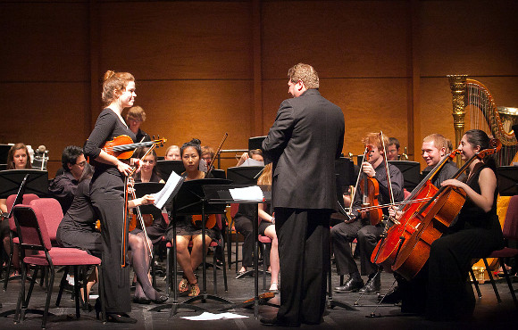 Chamber orchestra concertmaster